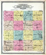 County Map, Green County 1918